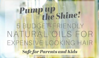DIY Natural Hair Treatment Oil for Parents and Kids