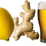 ginger lemon beer