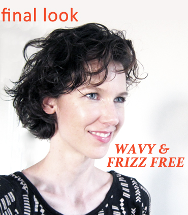 A Frizz-Free Summer Hair Style with Wave