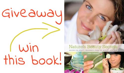 Giveaway! Copy of Nature's Beauty Secrets
