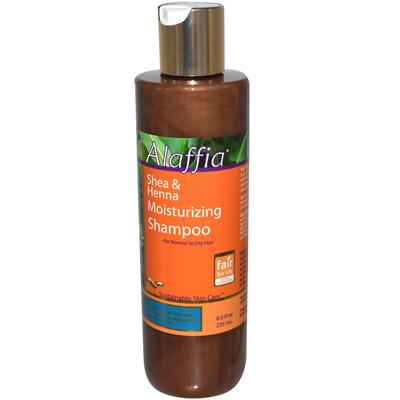 alaffia shea henna shampoo