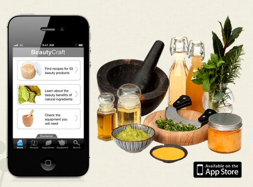 Recipes for Beauty: BeautyCraft App for That