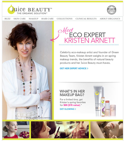newsletter juice beauty sm
