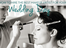 hire a wedding makeup artist
