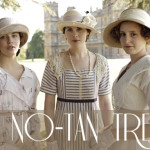 Downton Abbey pale skin no tan