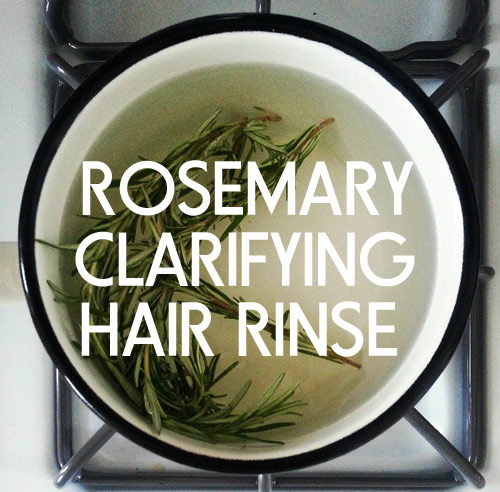 Get Shinier Hair Naturally with Rosemary