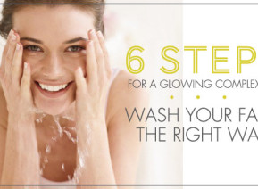 WANT GREAT SKIN? MAKE SURE YOU ARE WASHING YOUR FACE CORRECTLY