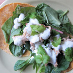 Beauty Lunch Series: Tangy Healthy Chicken Tacos