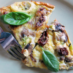 Beauty Lunch Series: Vitamin Packed Sun-Dried Tomato and Mushroom Frittata