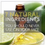 7 Natural DIY Skincare Ingredients You Should Never Use and Why