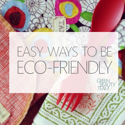 eco friendly lifestyle tips