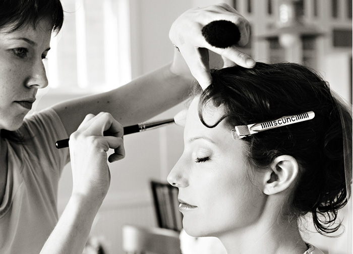 Kristen Arnett bridal makeup