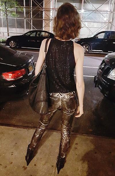 sequins rock star