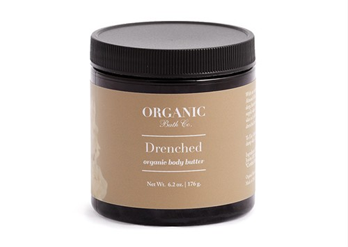 organic bath body butter drenched