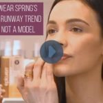 How to Wear Spring 2016's Hottest Makeup Trend If You're Not a Model