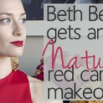 Celebrity Beth Behr's All-Natural Red Carpet Makeup Look Revealed