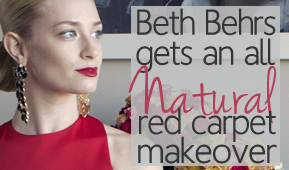 Celebrity Beth Behr's All-Natural Red Carpet Makeup Look Revealed
