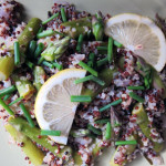 Beauty Lunch Series: Quinoa Asparagus Pilaf