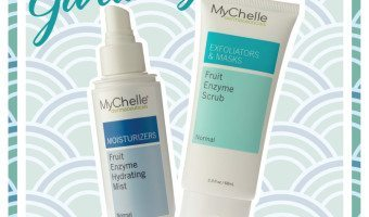 Giveaway! Win Mychelle Fruit Enzyme Scrub + Hydrating Mist